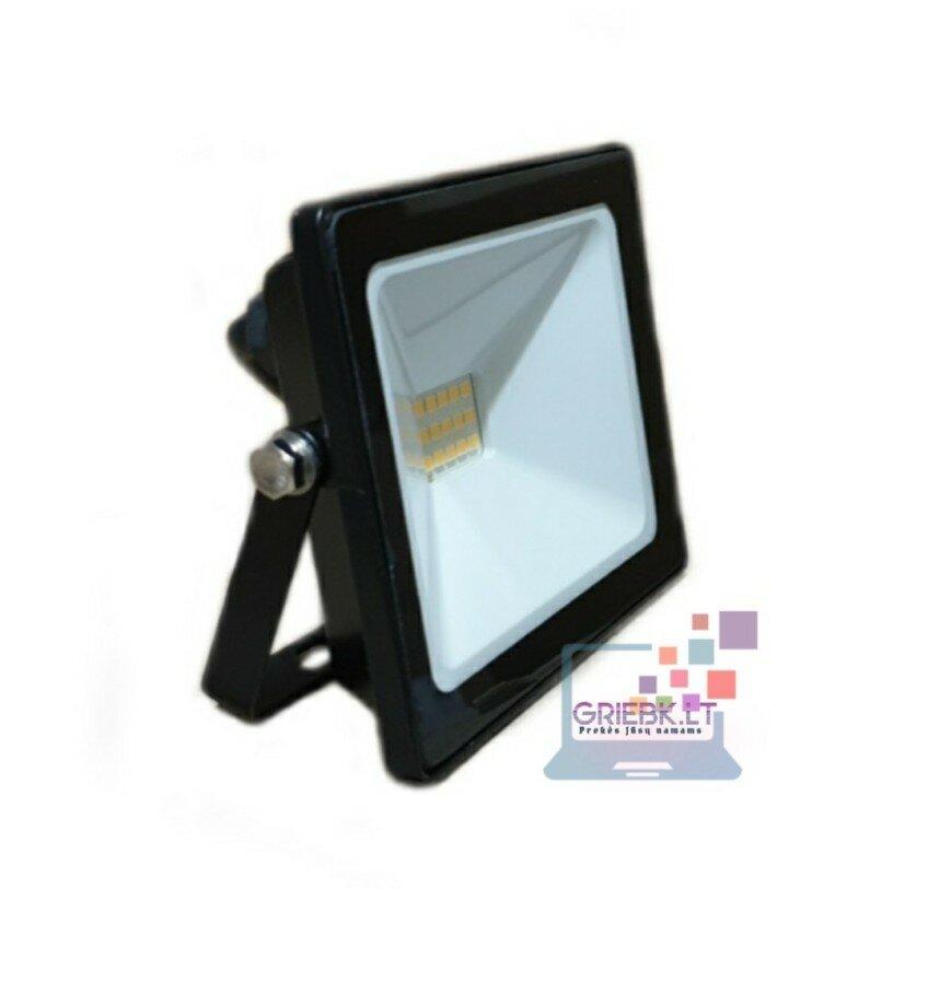 LED prožektorius be daviklio 20W Greelux