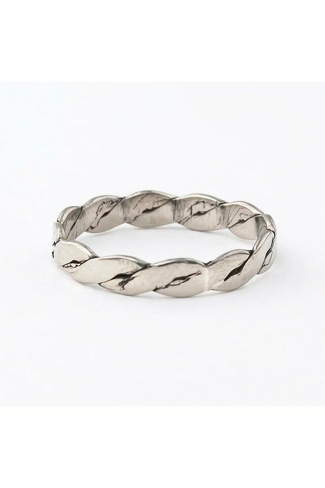 Žiedas iš melchioro, 17,5mm.